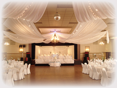 Wedding location reception banquet hall in scarborough wedding hall junglespirit Choice Image